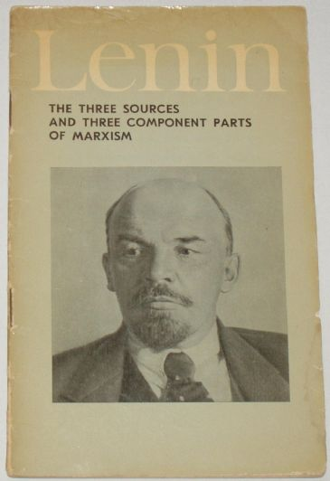 The Three Sources and Three Component parts of Marxism, by Lenin